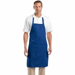 CornerStone Apron: Adjustable Bib with 3 Pockets (CS700)