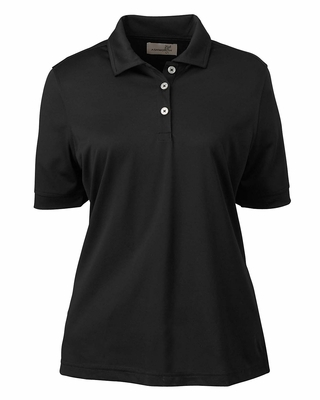 Ashworth Women's Polo Shirt: 100% Polyester Performance Wicking Pique (1290C)