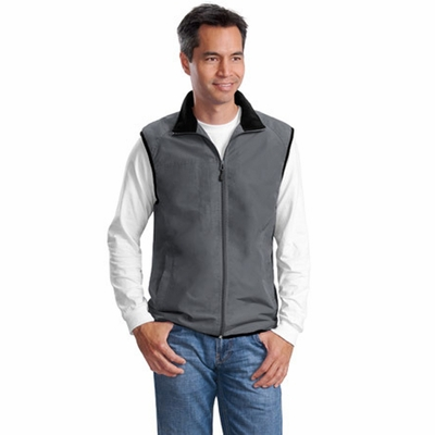 Port Authority Men's Vest: Challenger Pocketed Full-Zip (J355)