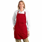 Port Authority Apron: 100% Cotton Full Length Pockets (A500)