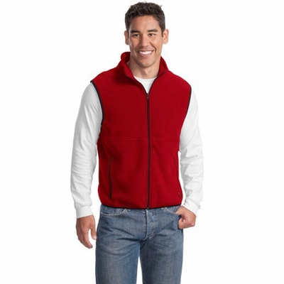 Port Authority Men's Vest: R-Tek Fleece Pocketed (JP79)