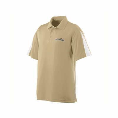 Augusta Sportswear Men's Polo Shirt: Poly Blend Colorblock Sport with Wicking/Odor Control (5035)