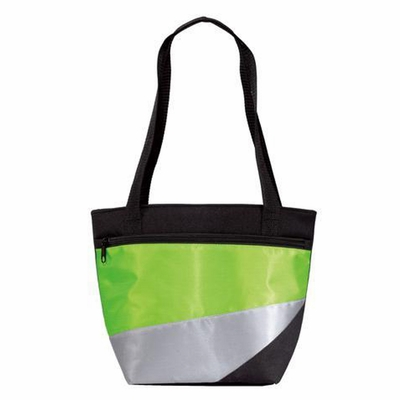 Port Authority Tote Bag: Two-Tone Lunch Cooler with Web Handles (BG117)
