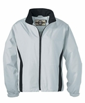 North End Women's Jacket: Two-Tone Full-Zip Activewear (78021)
