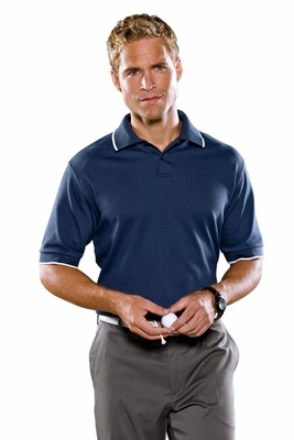 adidas Men's Polo Shirt: ClimaLite Tour Jersey Short-Sleeve (A88)