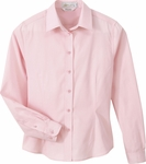 Il Migliore Women's Dress Shirt: Primalux End-On-End (77027)