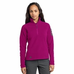 First Ascent Women's Jacket: 1/4 Zip Lightweight Fleece Pullover (FA701)