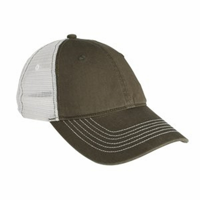 District Threads Cap: Mesh Back (DT607)
