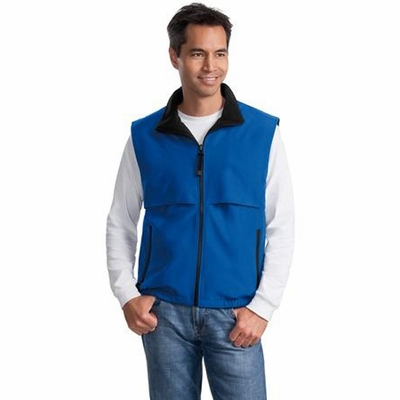 Port Authority Men's Vest: Reversible Terra-Tek Nylon and Fleece (J749)