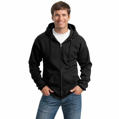 Port & Company Men's Sweatshirt: Full-Zip Hooded (PC90ZH)