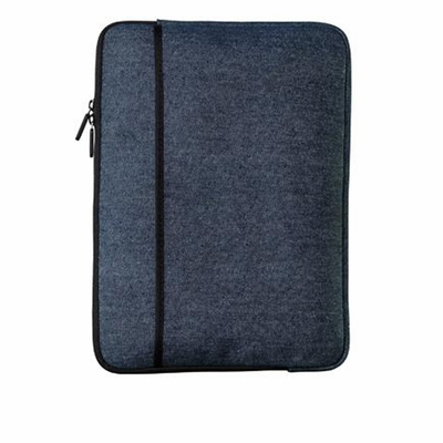 Port Authority Tablet Sleeve: Classic Plaid/Denim with Front Pocket (BG652S)
