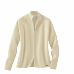 Il Migliore Women's Cardigan Sweater: Cotton Blend Full-Zip (71002)