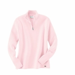 Il Migliore Women's Sweater: Cotton Blend Half-Zip Mock Neck (71001)