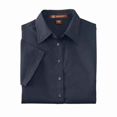 Harriton Women's Twill Shirt: (M500SW)