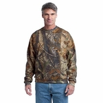 Russell Outdoors Men's Sweatshirt: 50/50 Realtree Crewneck (S188R)