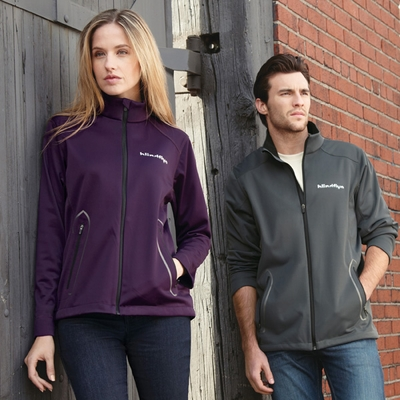 North End Women's Jacket: Modern Designed 3-Layer Lightweight Bonded Soft Shell (78655)