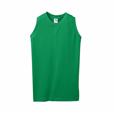 Augusta Sportswear Women's T-Shirt: 50/50 Sleeveless V-Neck (556)
