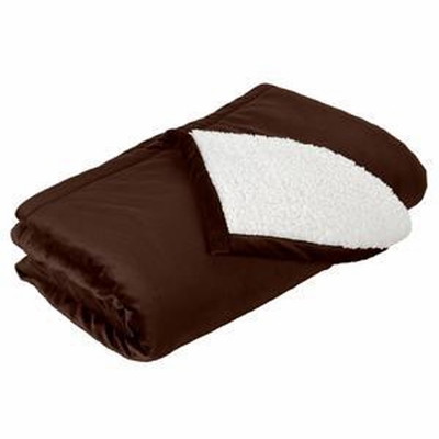 Port Authority Blanket: Fleece/Sherpa Mountain Lodge (BP40)
