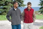 Devon & Jones Men's Jacket: Wintercept Fleece Quarter-Zip (D775)