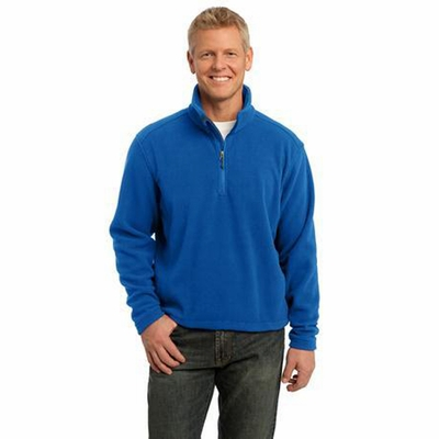 Port Authority Men's Sweatshirt: Value Fleece 1/4-Zip Pullover (F218)