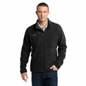 Eddie Bauer Men's Jacket: Fleece Full-Zip Wind Resistant (EB230)