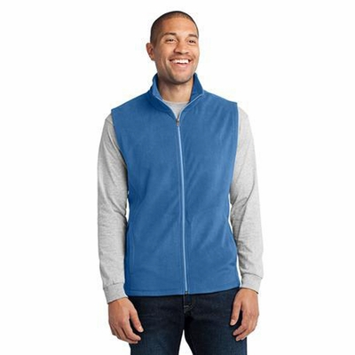 Port Authority Men's Vest: Lightweight Microfleece Pocketed (F226)