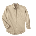 Il Migliore Men's Dress Shirt: Long Sleeve Solid Cotton Stretch (87028)