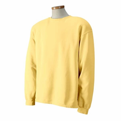 Authentic Pigment Men's Sweatshirt: 80/20 Boxy Crewneck (1983)