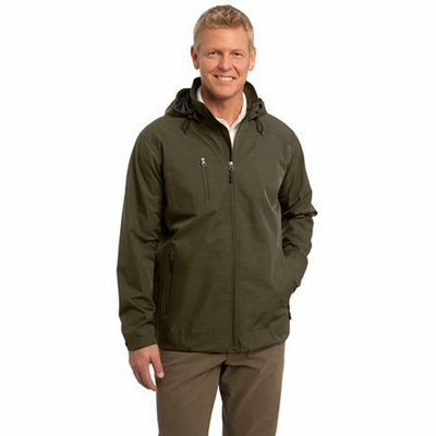 Port Authority Men's Jacket: Reliant Hooded with Interior Cell Phone Pocket (J308)