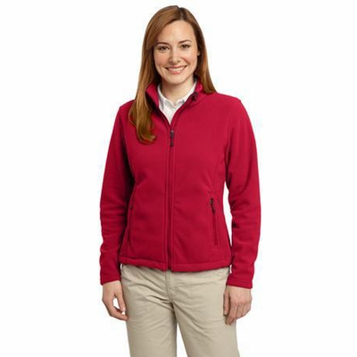 Port Authority Women's Sweatshirt: Value Fleece w/ Zippered Pockets(L217)