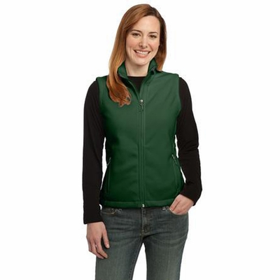 Port Authority Women's Vest: Full-Zip Value Super Soft Fleece(L219)