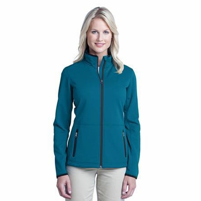 Port Authority Women's Jacket: Pique Fleece w/ Pockets(L222)