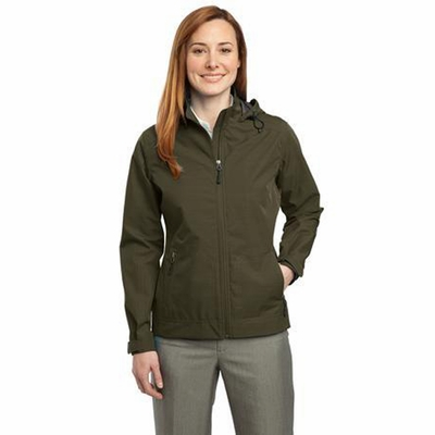 Port Authority Women's Jacket: Reliant Hooded Waterproof (L308)