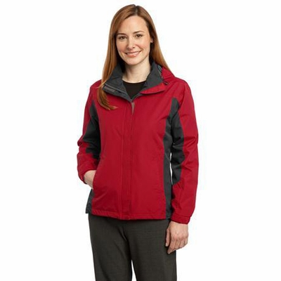 Port Authority Women's Jacket: Weather-Resistant Dry Shell Hooded (L309)