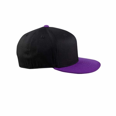 YUPOONG Cap: 6 Panel Fitted w/ Flat Visor (6210T)
