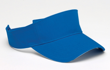 Harriton Visor: 100% Cotton Washed Twill (M850)
