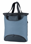 North End Tote Bag: Zippered Pockets Poly/Nylon-Lined (44012)