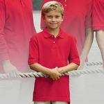 Inner Harbor Youth Polo Shirt: Cotton Pique (7200)