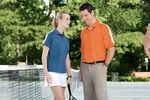Devon & Jones Women's Polo Shirt: Dri-Fast Advantage Colorblock Mesh (DG375W)