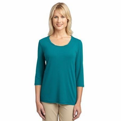 Port Authority Women's T-Shirt: Concept Rope Neck (L542)