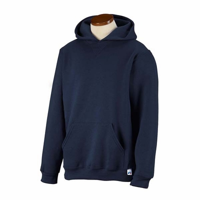 Russell Athletic Youth Sweatshirt: 50/50 Dri-Power Fleece Pullover Hoodie (995HBB)