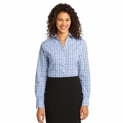 Port Authority Women's Woven Shirt: Crosshatch Plaid Easy Care (L641)