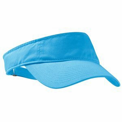 Port Authority Visor: 100% Cotton Twill Enzyme Washed Fashion (C840)