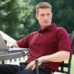 Jonathan Corey Men's Polo Shirt: Soil Release Nano-Tex Pique (126)