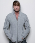 alternative Men's Sweatshirt: 6.3 oz. Long-Sleeve Zip Hoodie (AA9590)