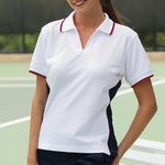 Proline Sportswear Women's Polo Shirt: Marathon Moisture Manage Pique (2223)