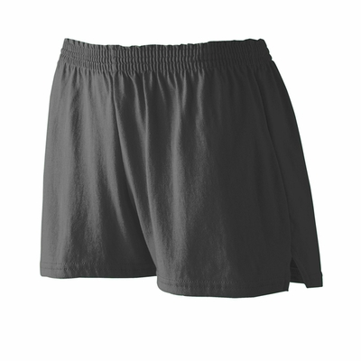 Augusta Sportswear Junior Girls Shorts: 50/50 Jersey V-Notch 3-Inch (988)