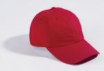Devon & Jones Cap: 100% Organic Cotton 6-Panel Baseball (D845GR)