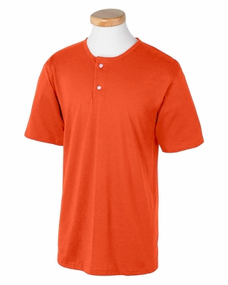 Augusta Sportswear Men's Baseball Jersey: 50/50 Two-Button (580)