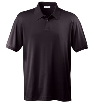 Calvin Klein Men's Polo Shirt: Liquid Cotton (13CK001)